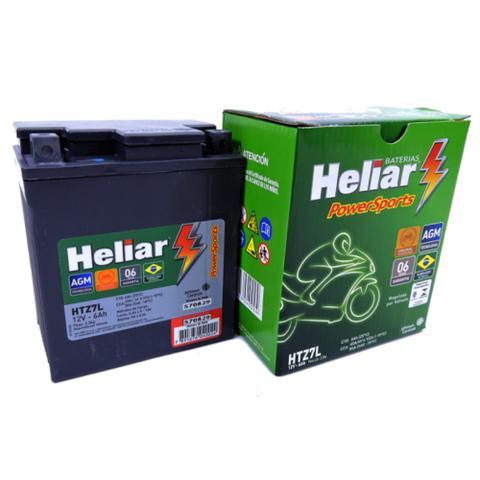 Imagem de Bateria Heliar Htz7l 6ah Dafra Speed 150 2009 Original (Envio Imediato)