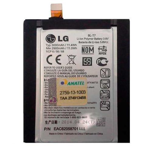 Imagem de Bateria LG Original D805 BL-T7 3000 mAh