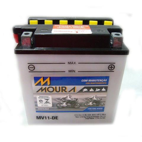 Imagem de Bateria Moto Moura Mv11-DE Suzuki Virago 250 Gs 500 -  / Yb10l-a2