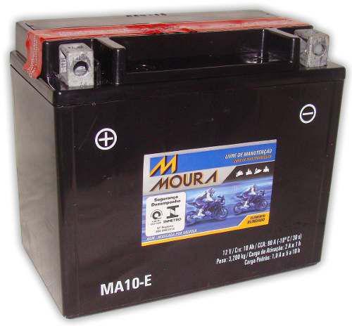 Imagem de Bateria Moto Moura Ytx12-bs Ma10-e Cbr 1100 Bandit 1200