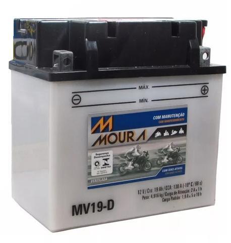 Imagem de Bateria Moto Mv19-d Moura 19ah Kawasaki Kvf300-a Kvf300-b Kvf400-a Kvf400-b 4x4 Prairie