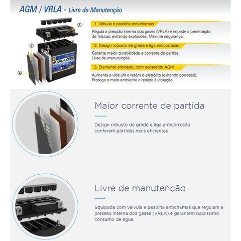Imagem de Bateria Moura MA5D 125/150 Cg/titan/biz/nxr/bros/fan/xre300