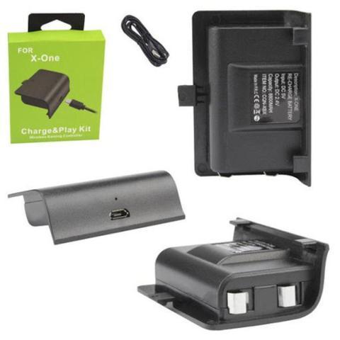 Imagem de Bateria Para Controle Xbox One Recarregável Com Cabo USB