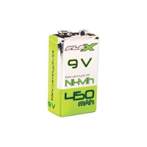 Imagem de Bateria Recarregavel 9V 450MAH FLEX