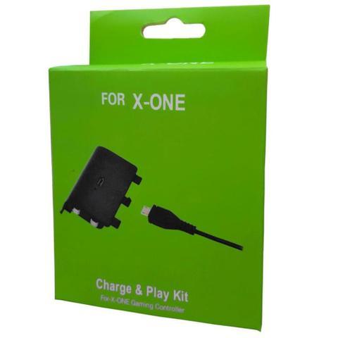 Imagem de Bateria Recarregável para Controle de Xbox One com cabo