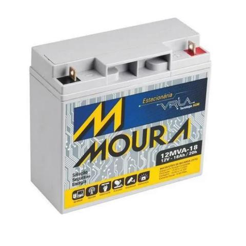 Imagem de Bateria Selada 12V 18ah Moura Vrla Agm - Nobreak