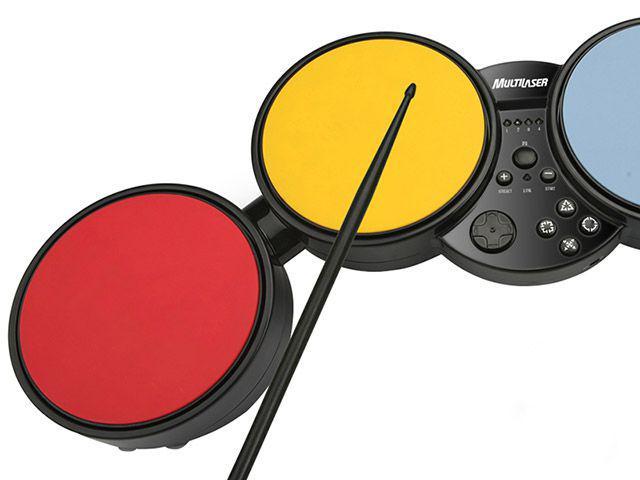 Imagem de Bateria Super Drum 3 em 1 p/ PS3 PS2 Wii