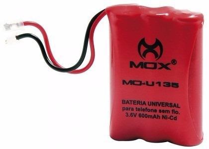 Imagem de Bateria Telefone sem fio Ni-Cd 3.6v 600 mah 3aaa Mo-u135
