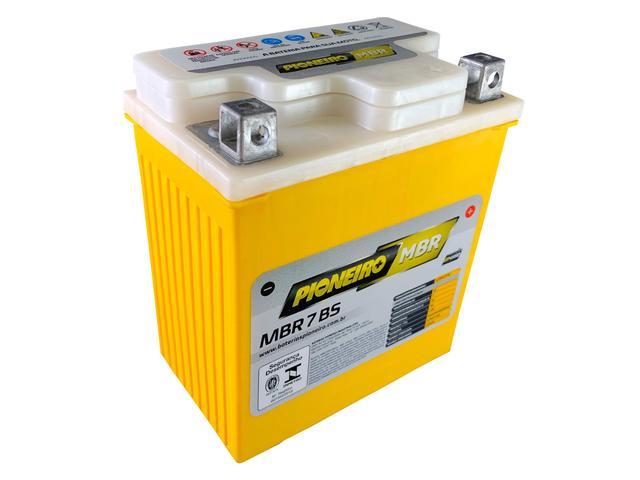 Imagem de Bateria Ytx7l-bs Dafra Speed 150 2010 Pioneiro Mbr7bs