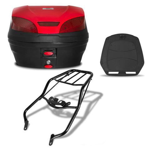 Imagem de Bau 30 Litros Pro Tork Smartbox 3 + Bagageiro Nxr Bros 125/150 2003 a 2008