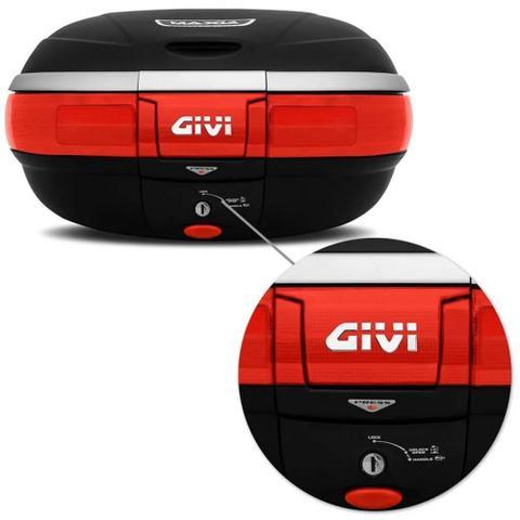 Imagem de Bau Bauleto Givi Monokey E52N Maxxia 52 Litros 2 capacetes