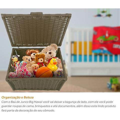 Imagem de Baú de Brinquedos Cesto de Roupas Grande 64x41x44