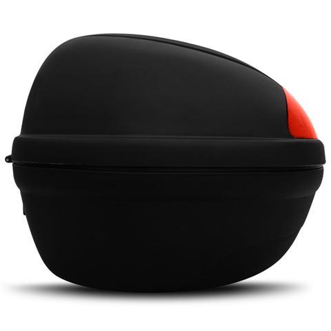 Imagem de Baú Moto Bauleto 45 Litros Givi E450N Monolock Simply Bagageiro Universal Preto Para 2 Capacetes
