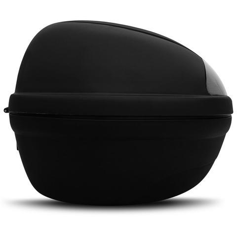 Imagem de Baú Moto Bauleto 45 Litros Givi E450NT Monolock Simply Bagageiro Universal Preto Para 2 Capacetes