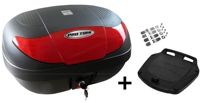 Imagem de Bau Moto Bauleto Com Base 45 Litros Pro Tork Smart Box