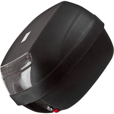 Imagem de Baú Para Moto 45 Litros Fumê Pro Tork Para 2 Capacetes