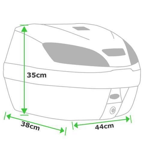 Imagem de Bauleto 30 Litros Smart box 3 Vermelho BP-10VM - Pro Tork
