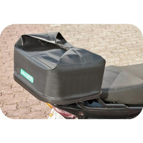 Imagem de Bauleto Bau para Motos Flexível Dobravel 38 litros Bauflex Bagageiro Impermeável