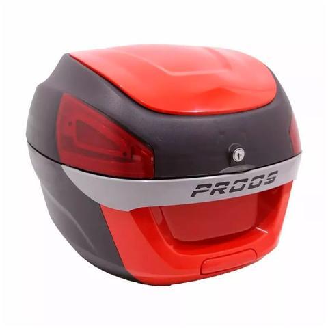 Imagem de Bauleto Proos Bau 29 Litros Para Moto Lead Vermelho