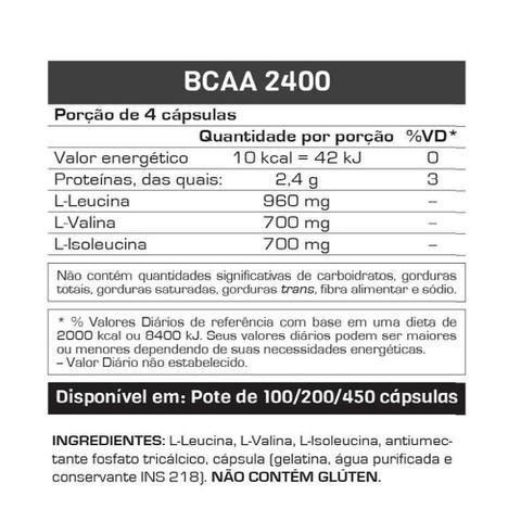 Imagem de BCAA 2400 100 Cáps. - Max Titanium