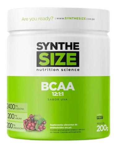 Imagem de Bcaa Powder Pó 12:1:1 Drink 200g  Uva - Synthesize
