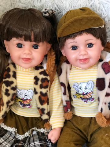 Imagem de Bebe Reborn Gêmeos Menino E Menina Lis E Rafael