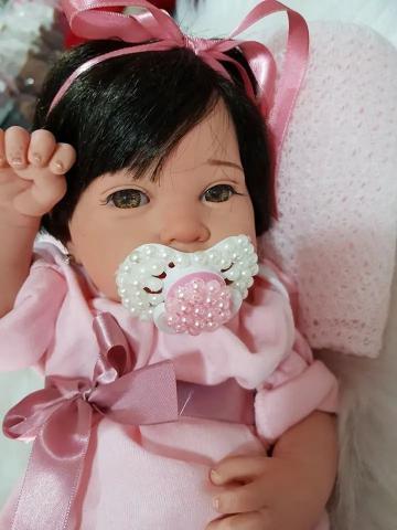 Imagem de Bebê Reborn Paloma Em Silicone