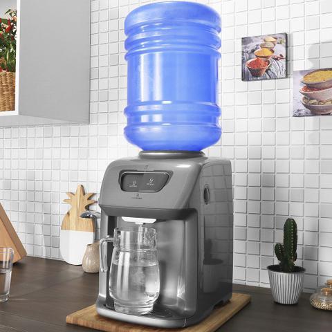 Imagem de Bebedouro de Água Prata Com Compressor (BC21X)