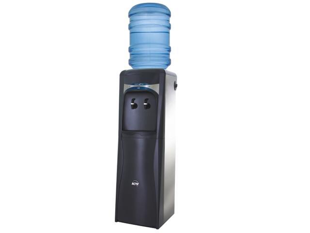 Bebedouro Master Frio Icy Compressor Coluna Grafite 2 Torneiras 220v