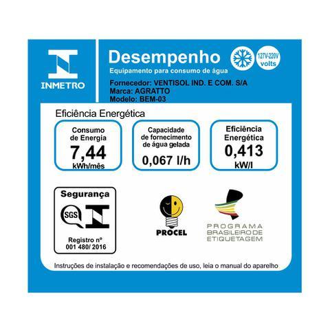 Imagem de Bebedouro Eletrônico Para Água Mineral Bivolt Agratto