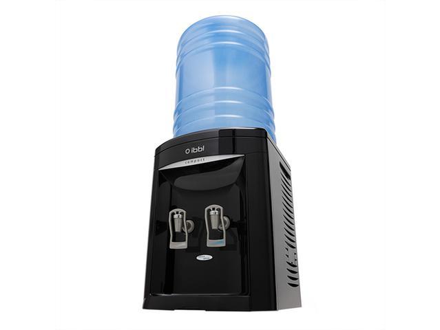 Imagem de Bebedouro Galão IBBL Compact FN2000 Preto 110V, Água Natural e Gelada, Serpentina Externa, Fácil Higienização, Torneira