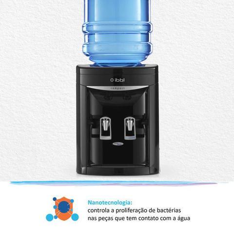 Imagem de Bebedouro para Garrafão IBBL Compact Preto 110V