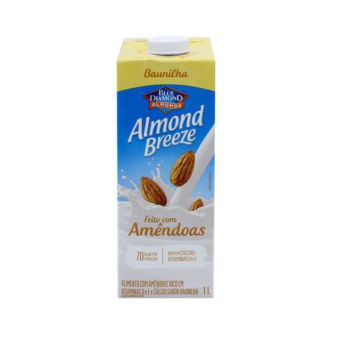 Imagem de Bebida de Amêndoas com Baunilha Almond Breeze 1L
