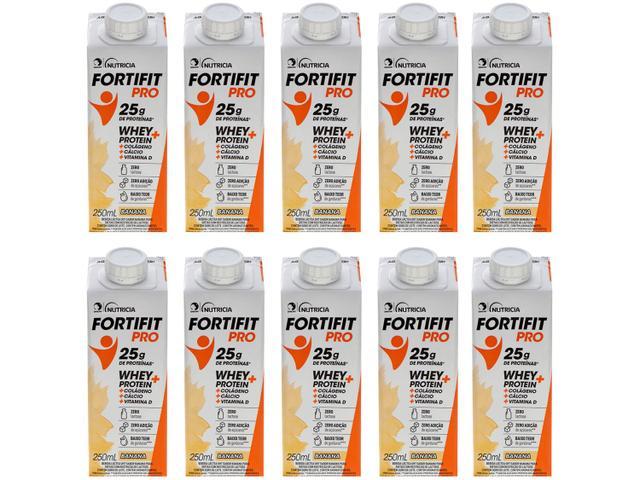 Imagem de Bebida Láctea Fortifit Pro Banana Zero Açúcar