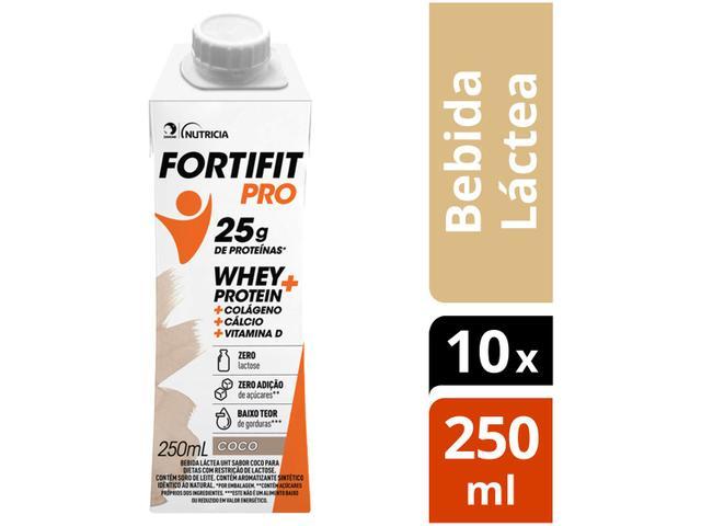 Imagem de Bebida Láctea Fortifit Pro Coco Zero Açúcar