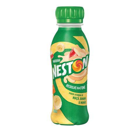 Imagem de Bebida Láctea Nestle Neston Maçã, Banana e Mamão 280ml