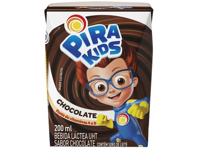 Imagem de Bebida Láctea Piracanjuba Pirakids Chocolate 200ml