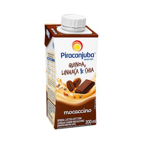 Imagem de Bebida Láctea Piracanjuba Quinoa Linhaça Mocaccino 200ml