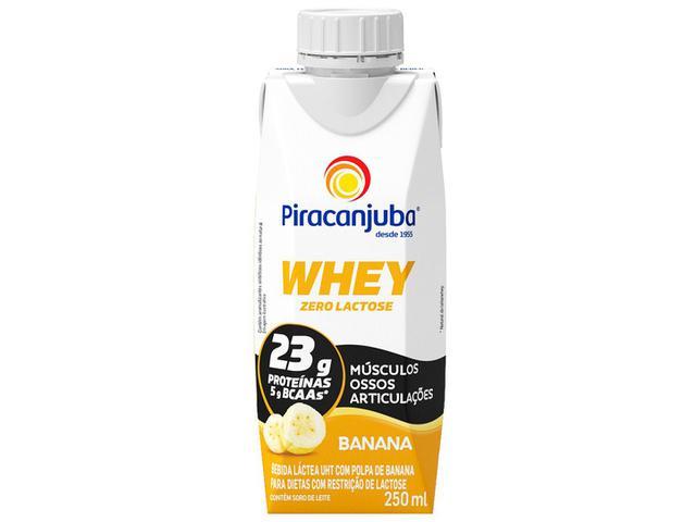 Imagem de Bebida Láctea Piracanjuba Whey Banana Zero Lactose