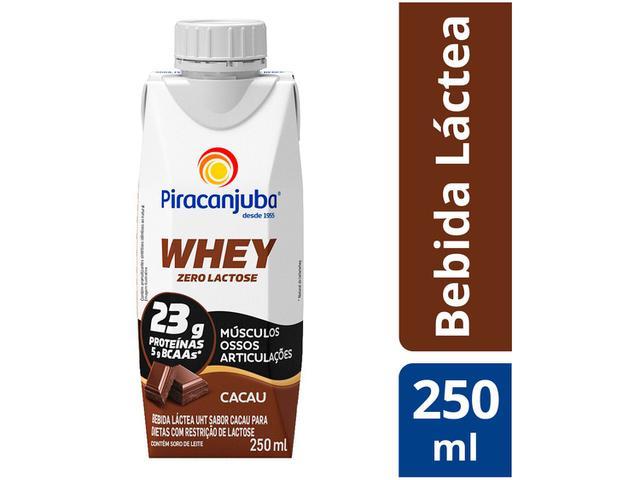 Imagem de Bebida Láctea Piracanjuba Whey Cacau Zero Lactose