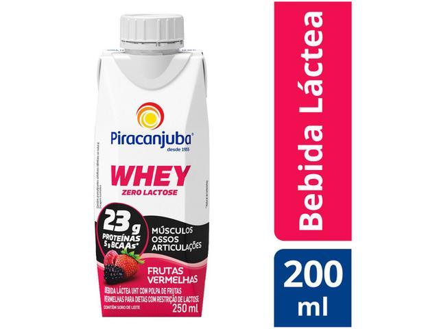 Imagem de Bebida Láctea Piracanjuba Whey Frutas Vermelhas