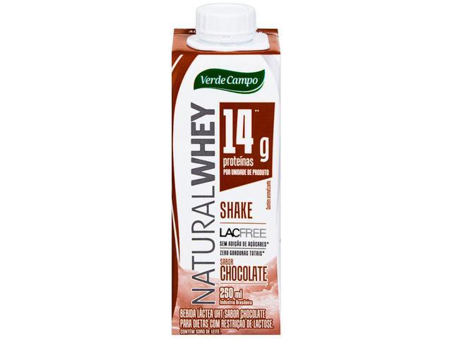 Imagem de Bebida Láctea Verde Campo Shake Natural Whey