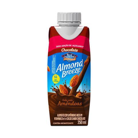 Imagem de Bebida Vegetal Amêndoas Almond Breeze Chocolate 250ml