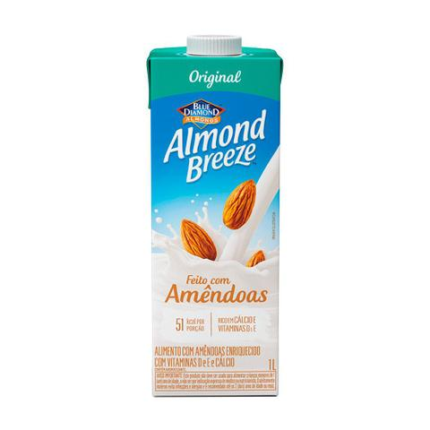 Imagem de Bebida Vegetal De Amêndoas Almond Breeze Original 1l