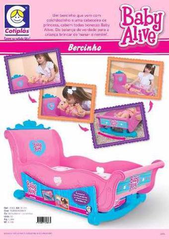 Imagem de Bercinho Para Baby Alive Licenciado Hasbro Original