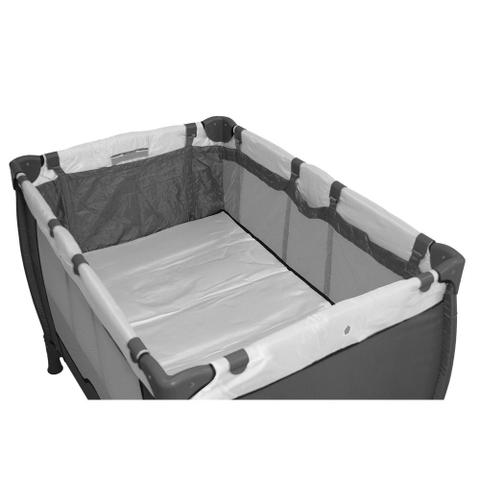 Imagem de Berço Cercado  Compacto  Cinza  -  Baby Style