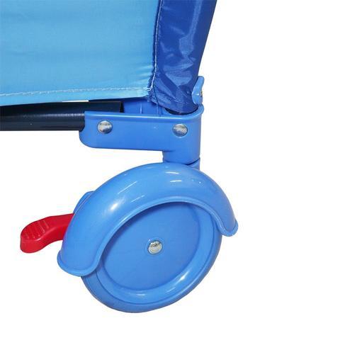 Imagem de Berço Cercado Desmontável Plus Azul Oceano Baby Style