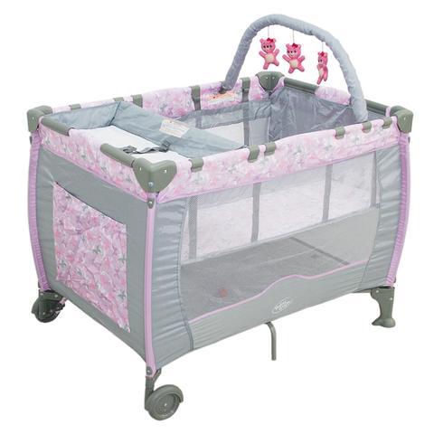 Imagem de Berço Cercado Desmontável Plus Borboleta Baby Style