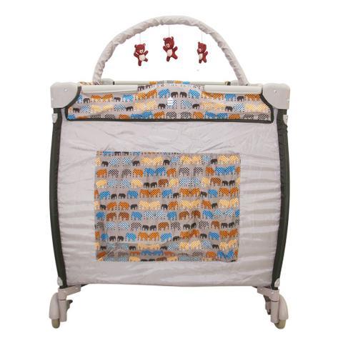 Imagem de Berço Cercado Desmontável Plus Elefante Baby Style