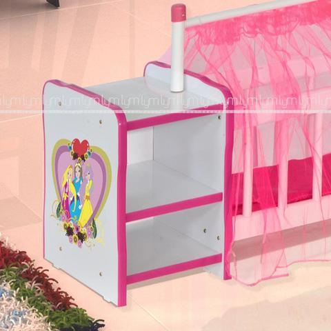 Imagem de Berço Para Boneca Cristal Princesas Brinquedo Infantil Criança - Lyam Decor